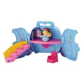 Disney Princess Cinderella's Fold 'n Go Carriage by Little People