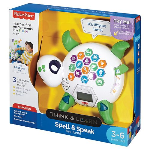 Fisher-Price Think & Learn Spell & Speak Sea Turtle