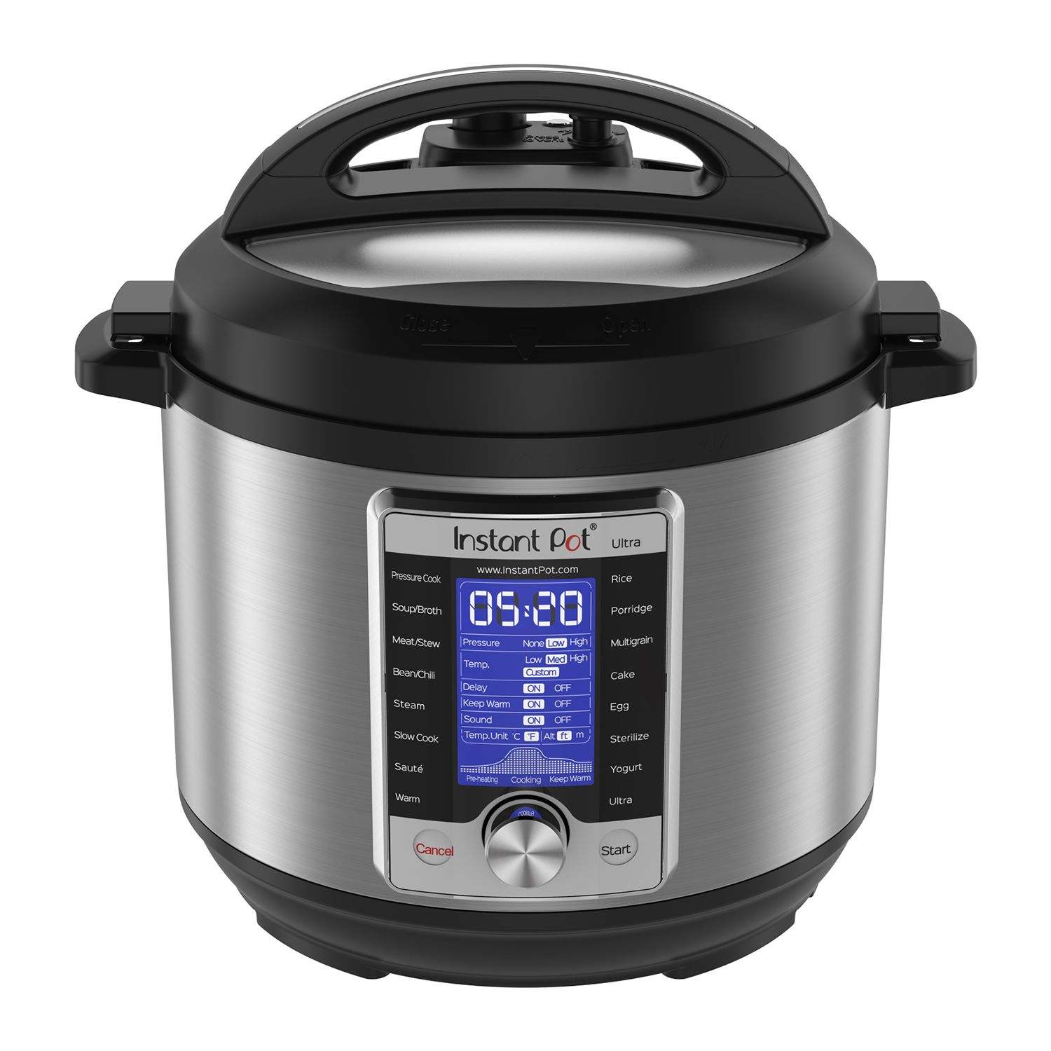 Instant Pot Ultra 10in1 6qt Programmable Pressure Cooker
