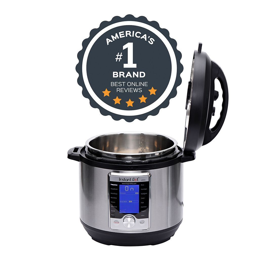 Instant Pot Ultra 10-in-1 6-qt. Programmable Pressure Cooker
