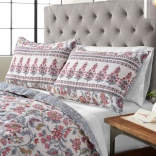 SONOMA Goods for Life™ Multi-Floral Reversible Quilted Sham