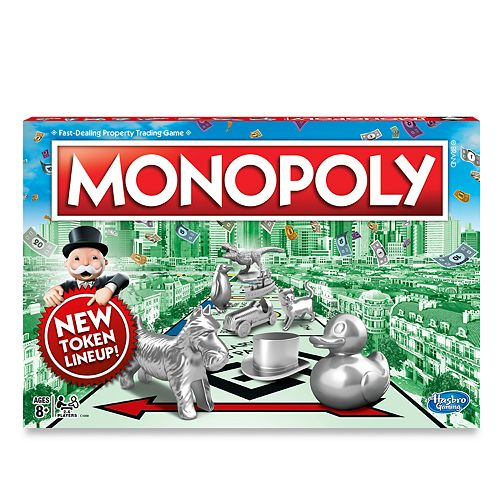 Monopoly Classic Game By Hasbro