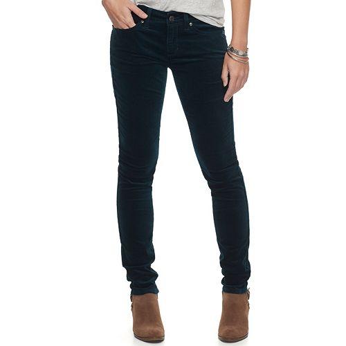 Women's SONOMA Goods for Life™ Velveteen Skinny Pants