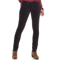 Women's SONOMA Goods for Life™ Velveteen Skinny Pants