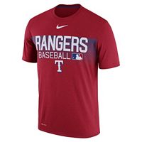 Men's Nike Texas Rangers Legend Team Issue Tee