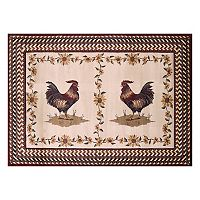 United Weavers Urban Galleries Roosterfest Framed Rug