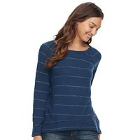 Women's SONOMA Goods for Life™ Lurex Stripe Top