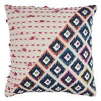 Rizzy Home Geometric I Throw Pillow