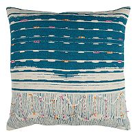 Rizzy Home Striped Tassles II Throw Pillow