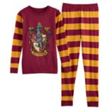 Girls 8-14 Harry Potter Gryffindor Top & Bottoms Pajama Set