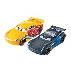 Disney / Pixar Cars 3 Flip to the Finish Rust-eze Cruz Ramirez & Jackson Storm Vehicle Set
