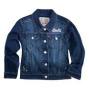 Toddler Girls Levi's® Distressed Denim Jacket