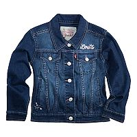 Toddler Girls Levi's® Distressed Denim Jacket