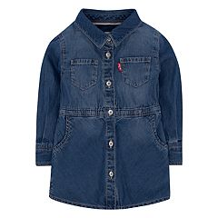 Toddler Girls Levi's® Acid Wash Lightweight Denim Dress