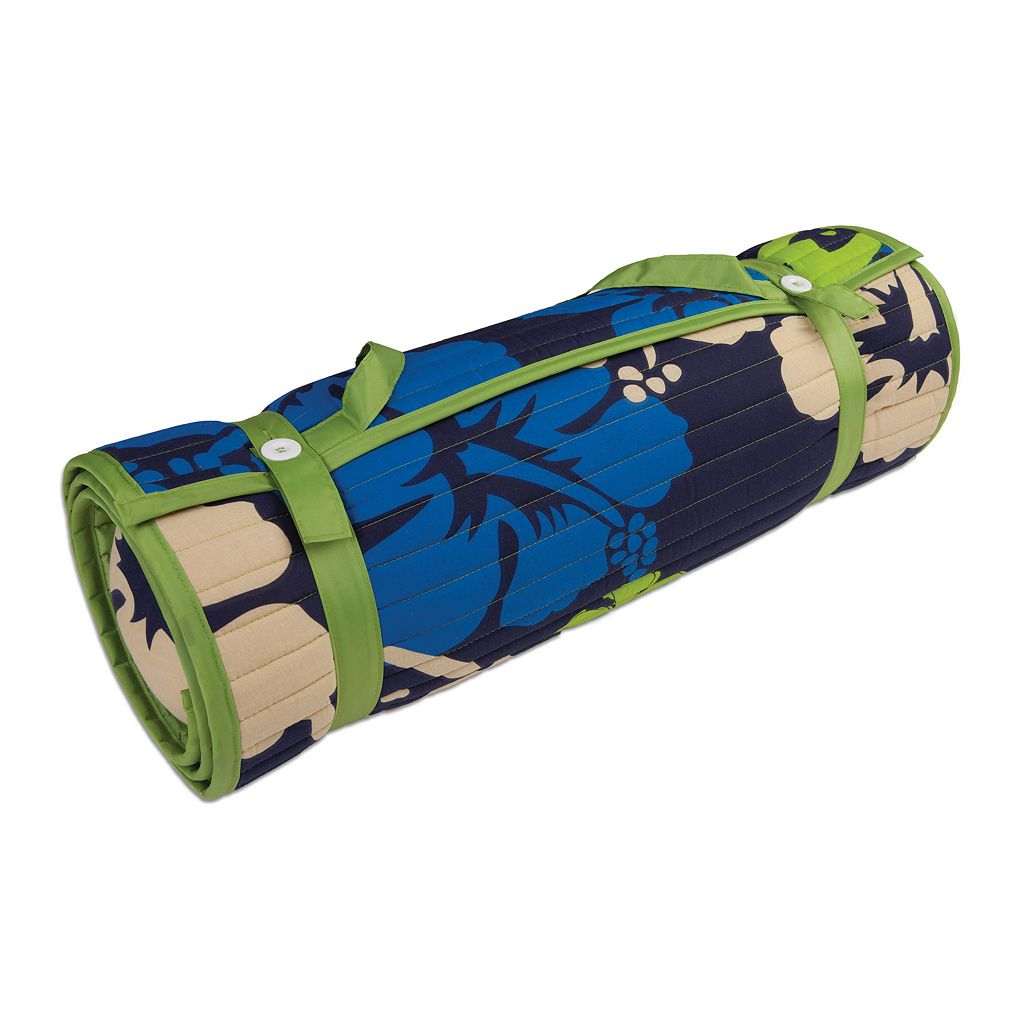 ADI Outdoor Living Floral Rolled Beach Mat