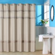 Portsmouth Home Radcliff Embroidered Shower Curtain