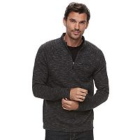 Men's Marc Anthony Slim-Fit Marled Quarter-Zip Pullover
