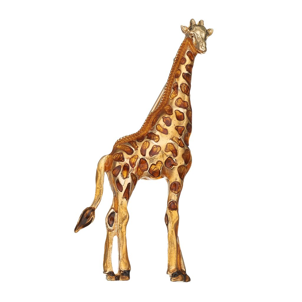 Napier Giraffe Pin