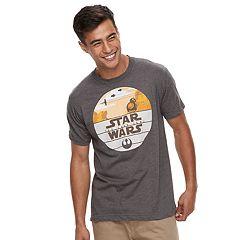 Men's Star Wars: Episode VIII The Last Jedi BB-8 Tee