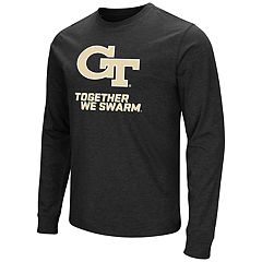 Men's Campus Heritage Georgia Tech Yellow Jackets Logo Long-Sleeve Tee