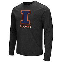 Men's Campus Heritage Illinois Fighting Illini Logo Long-Sleeve Tee