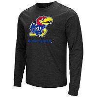 Men's Campus Heritage Kansas Jayhawks Logo Long-Sleeve Tee