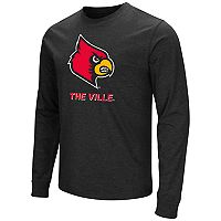 Men's Campus Heritage Louisville Cardinals Logo Long-Sleeve Tee