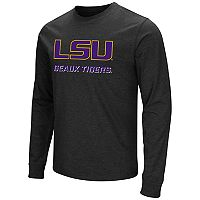 Men's Campus Heritage LSU Tigers Logo Long-Sleeve Tee