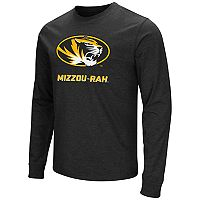 Men's Campus Heritage Missouri Tigers Logo Long-Sleeve Tee
