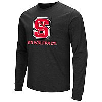 Men's Campus Heritage North Carolina State Wolfpack Logo Long-Sleeve Tee