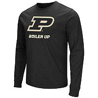 Men's Campus Heritage Purdue Boilermakers Logo Long-Sleeve Tee
