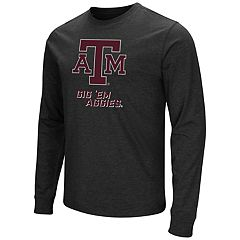 Men's Campus Heritage Texas A&M Aggies Logo Long-Sleeve Tee