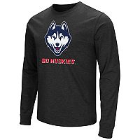 Men's Campus Heritage UConn Huskies Logo Long-Sleeve Tee