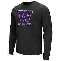 Men's Campus Heritage Washington Huskies Logo Long-Sleeve Tee
