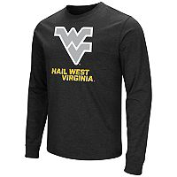 Men's Campus Heritage West Virginia Mountaineers Logo Long-Sleeve Tee