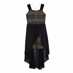Girls 7-16 IZ Amy Byer Walk-Through Maxi Dress