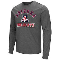 Men's Campus Heritage Arizona Wildcats Wordmark Long-Sleeve Tee
