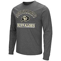 Men's Campus Heritage Colorado Buffaloes Wordmark Long-Sleeve Tee