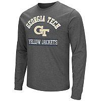 Men's Campus Heritage Georgia Tech Yellow Jackets Wordmark Long-Sleeve Tee