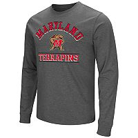 Men's Campus Heritage Maryland Terrapins Wordmark Long-Sleeve Tee