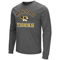 Men's Campus Heritage Missouri Tigers Wordmark Long-Sleeve Tee