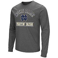 Men's Campus Heritage Notre Dame Fighting Irish Wordmark Long-Sleeve Tee