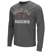 Men's Campus Heritage Texas A&M Aggies Wordmark Long-Sleeve Tee