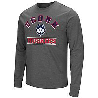 Men's Campus Heritage UConn Huskies Wordmark Long-Sleeve Tee