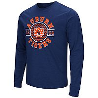 Men's Campus Heritage Auburn Tigers Zigzag Long-Sleeve Tee
