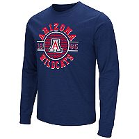 Men's Campus Heritage Arizona Wildcats Zigzag Long-Sleeve Tee