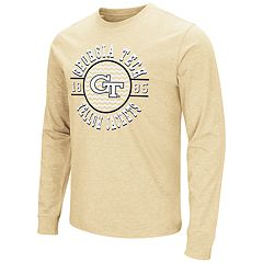 Men's Campus Heritage Georgia Tech Yellow Jackets Zigzag Long-Sleeve Tee