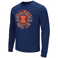 Men's Campus Heritage Illinois Fighting Illini Zigzag Long-Sleeve Tee
