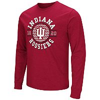 Men's Campus Heritage Indiana Hoosiers Zigzag Long-Sleeve Tee