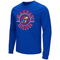 Men's Campus Heritage Kansas Jayhawks Zigzag Long-Sleeve Tee